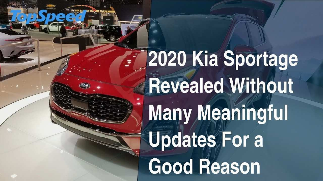 39 Great Kia Sportage 2020 Youtube Wallpaper with Kia Sportage 2020 Youtube