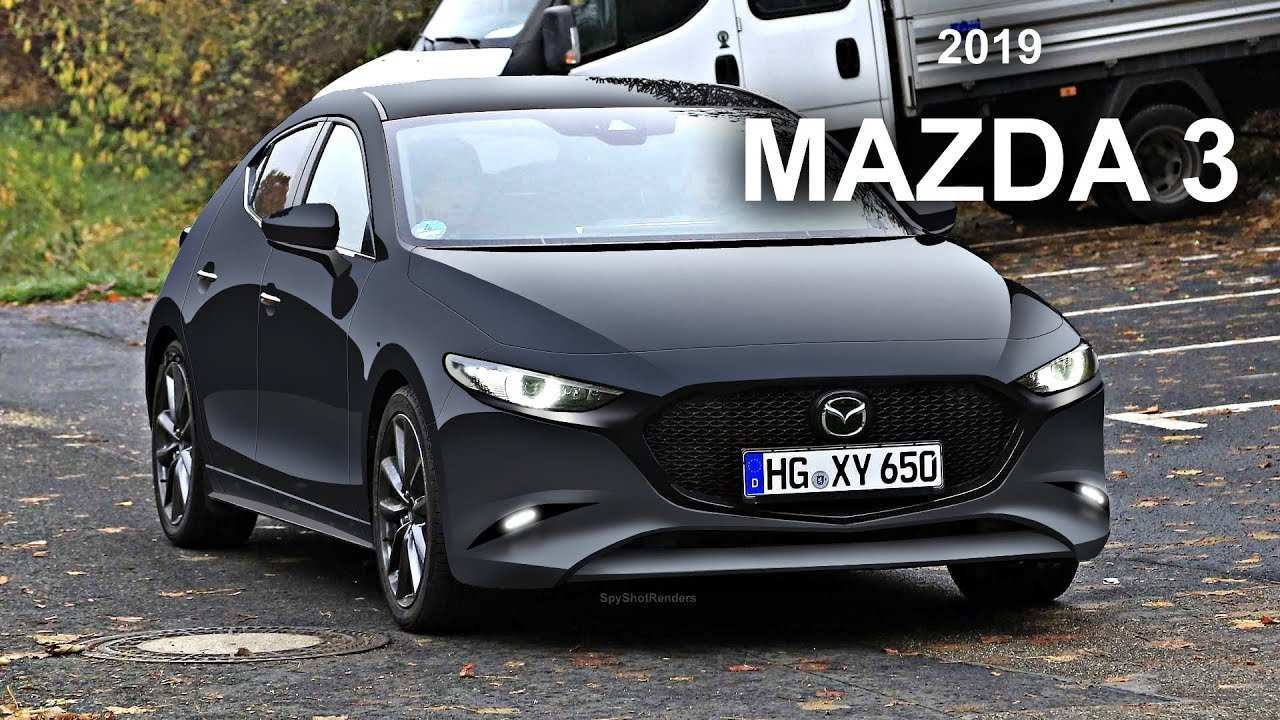 40 All New 2020 Mazda 3 Spy Shots Speed Test by 2020 Mazda 3 Spy Shots