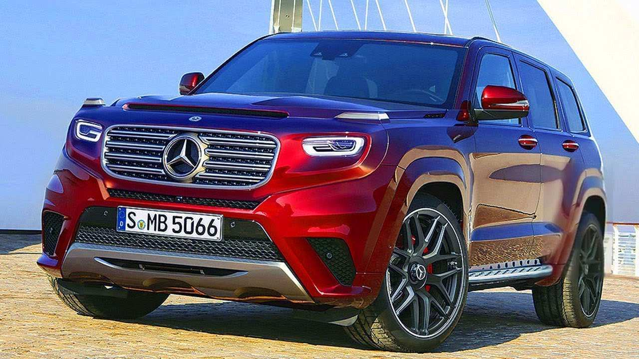 40 All New 2020 Mercedes Gl Class New Concept for 2020 Mercedes Gl Class