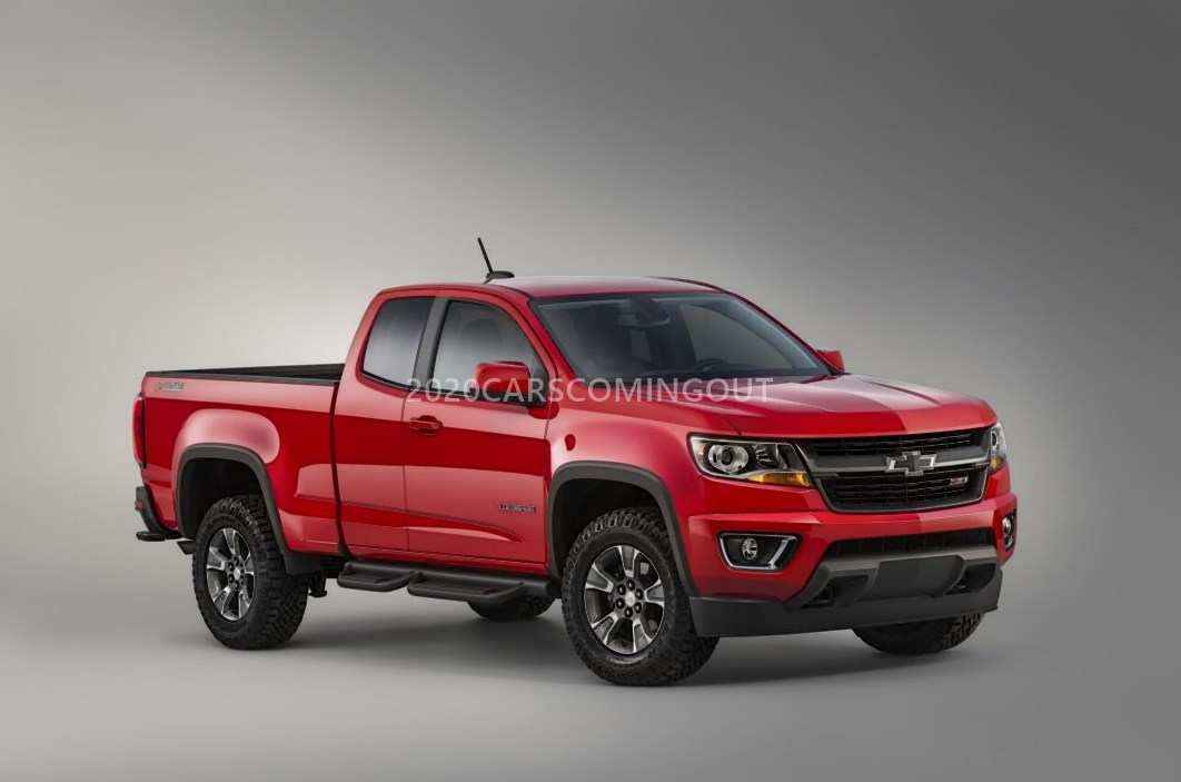40 Great 2020 Chevy Colorado Specs with 2020 Chevy Colorado