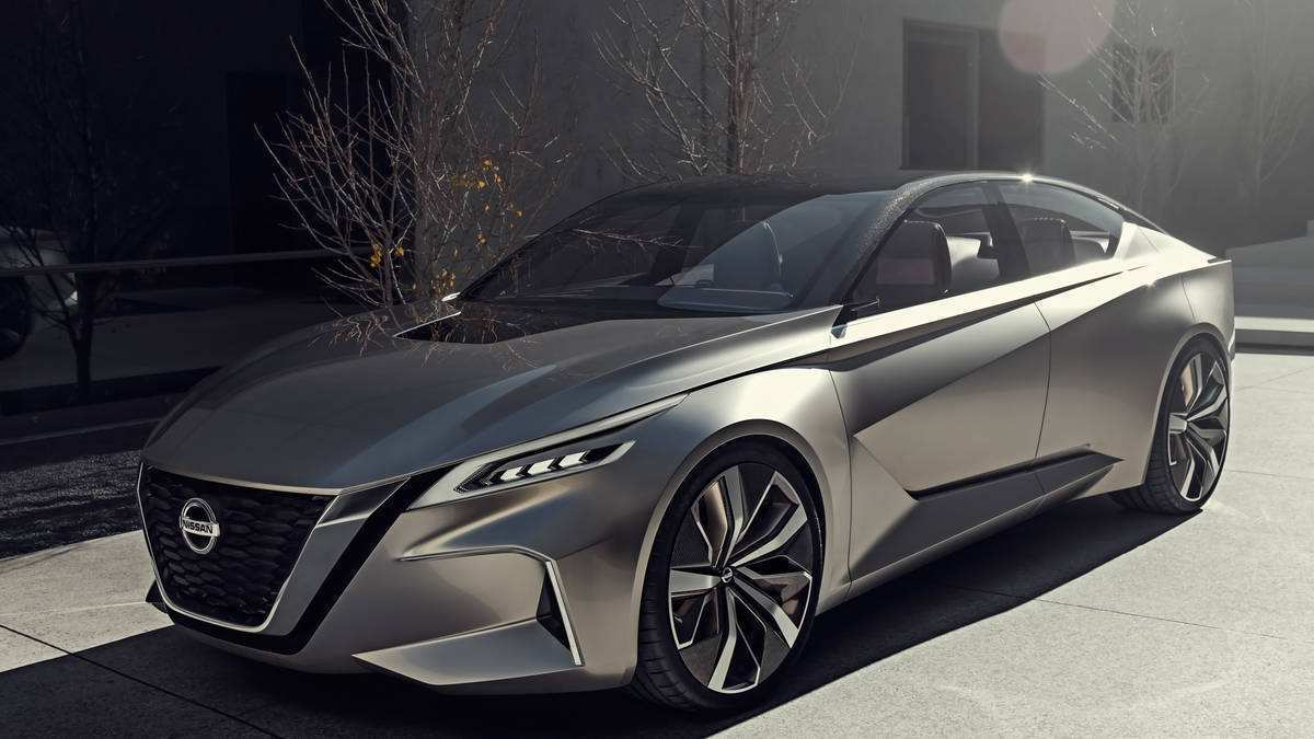 41 New 2020 Nissan Altima Exterior by 2020 Nissan Altima