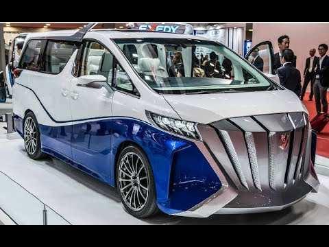 42 New Toyota Vellfire 2020 Redesign with Toyota Vellfire 2020