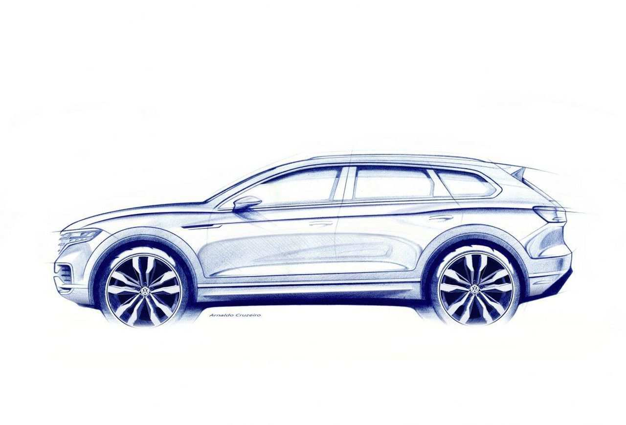42 New VW Touareg 2020 New Concept Redesign with VW Touareg 2020 New Concept