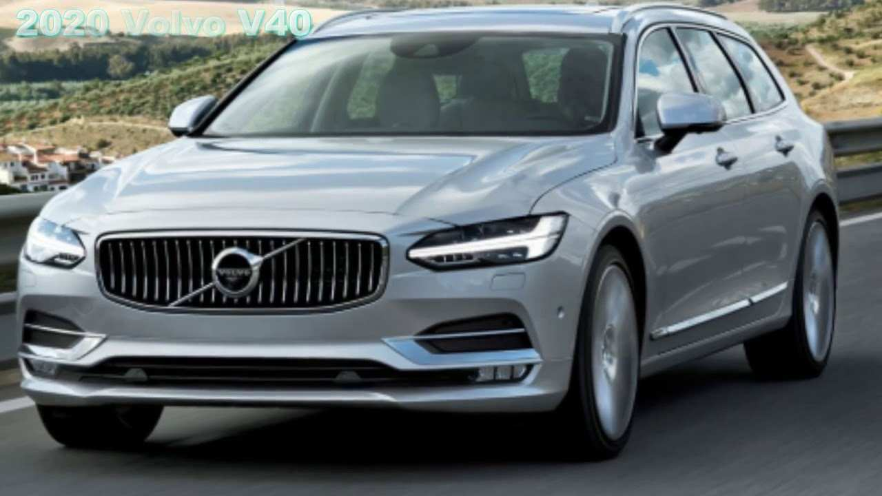 42 New Volvo V40 2020 Performance and New Engine for Volvo V40 2020