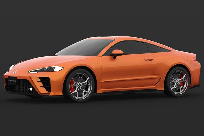 43 Concept of 2020 Mitsubishi Eclipse Model with 2020 Mitsubishi Eclipse