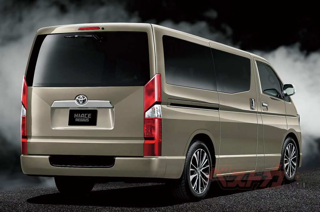 43 New 2020 Toyota Hiace 2018 Exterior by 2020 Toyota Hiace 2018
