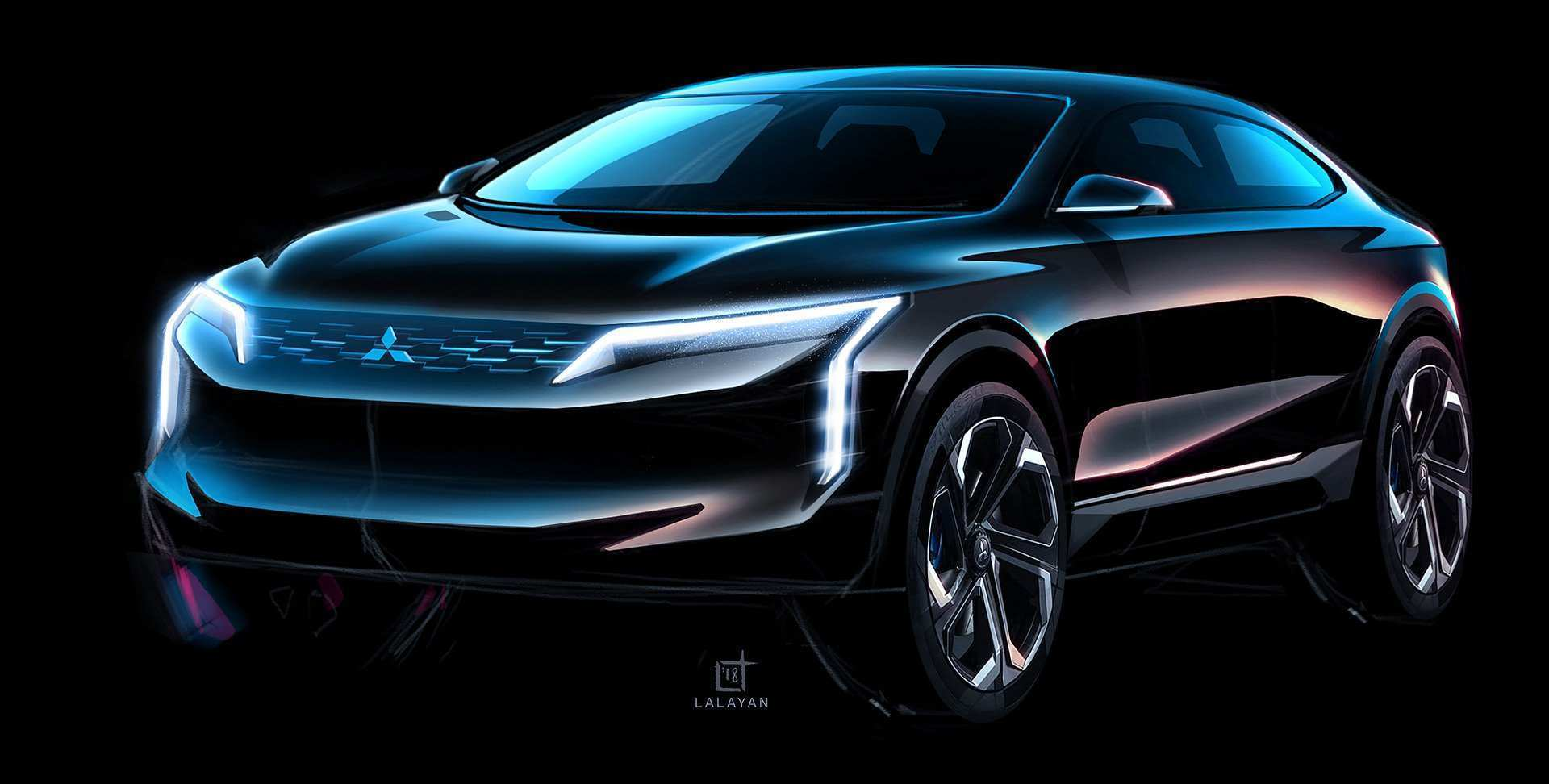 44 Great 2020 Mitsubishi Galant Redesign and Concept with 2020 Mitsubishi Galant