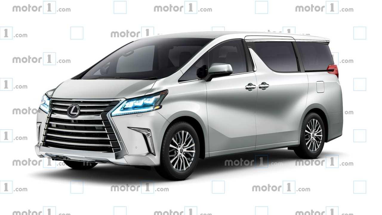 44 New 2020 Lexus Minivan Spy Shoot by 2020 Lexus Minivan