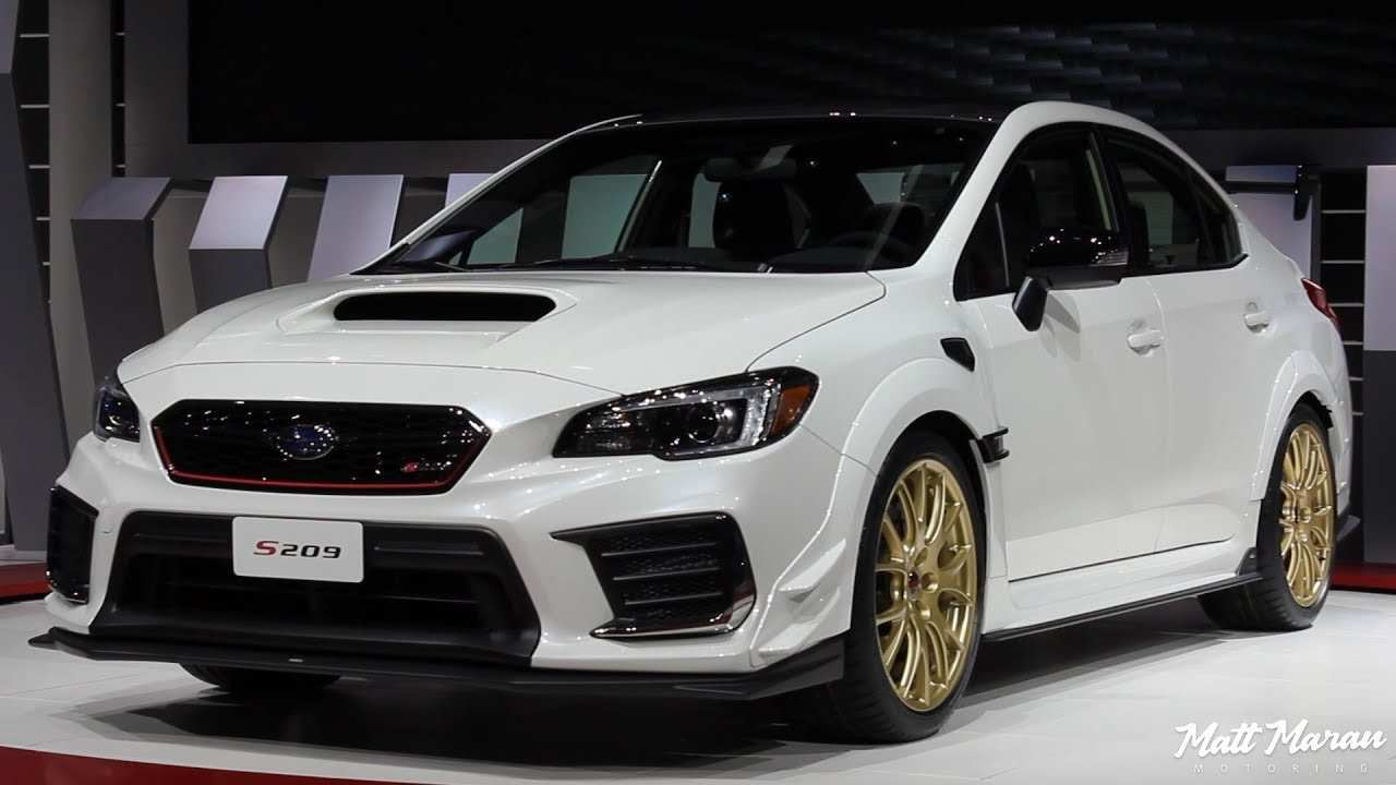 45 Best Review 2020 Subaru Sti Exterior and Interior with 2020 Subaru Sti