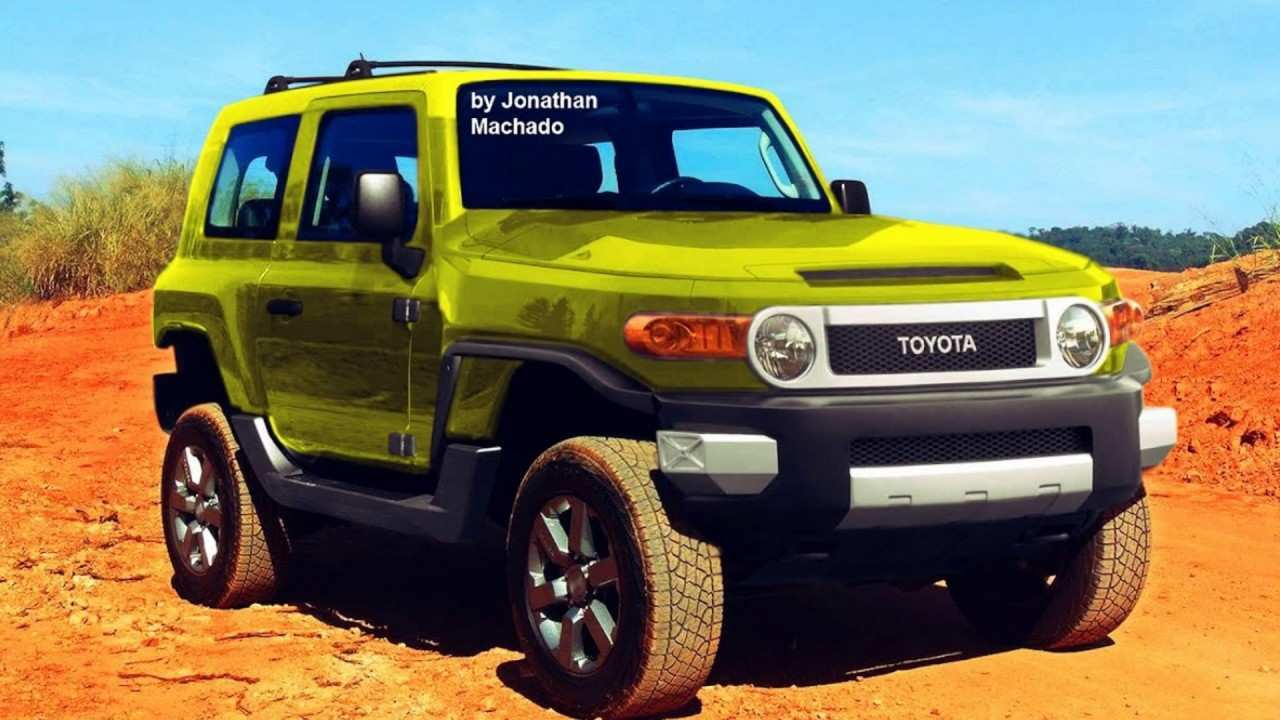 45 New 2020 Fj Cruiser 2018 Redesign by 2020 Fj Cruiser 2018