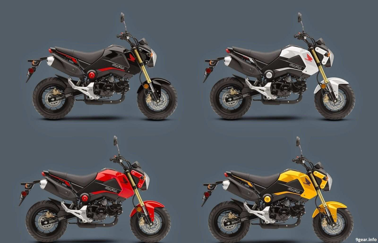 46 Best Review 2020 Honda Grom Colors Speed Test by 2020 Honda Grom Colors