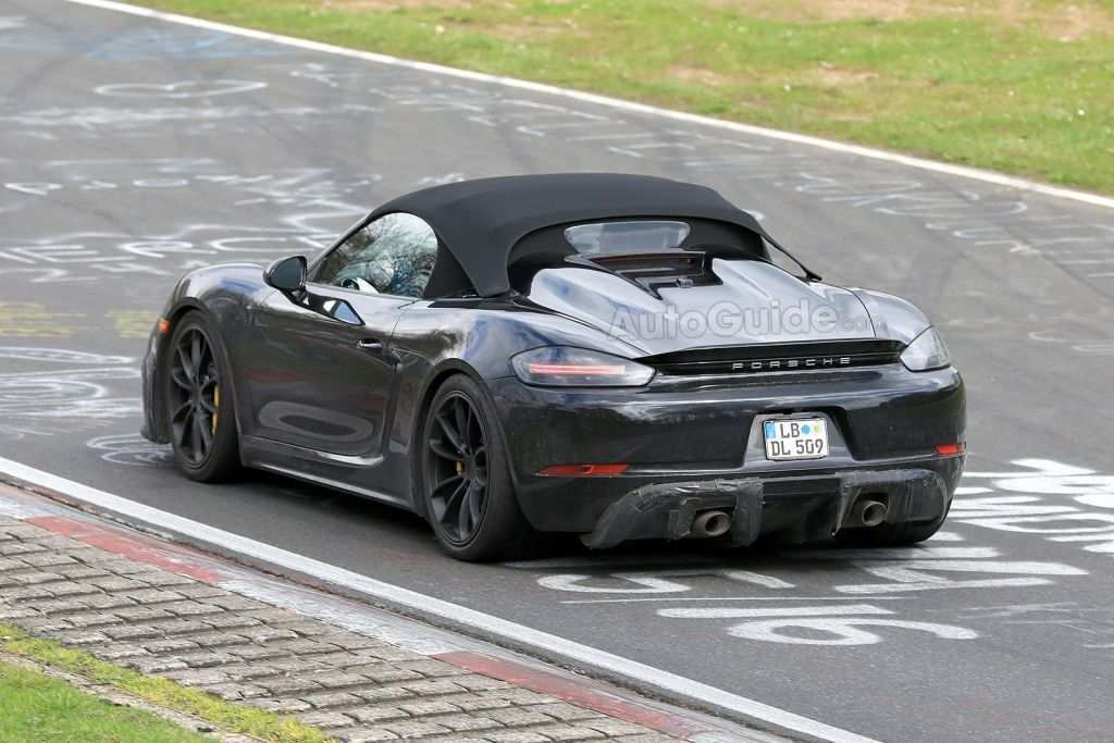 46 Concept of 2020 Porsche Boxster Spyder Spy Shoot for 2020 Porsche Boxster Spyder