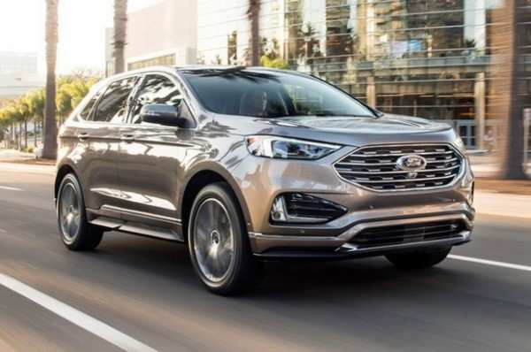 46 Gallery of Ford Edge 2020 New Design Interior with Ford Edge 2020 New Design