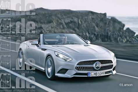46 Great Mercedes Roadster 2020 Redesign and Concept by Mercedes Roadster 2020