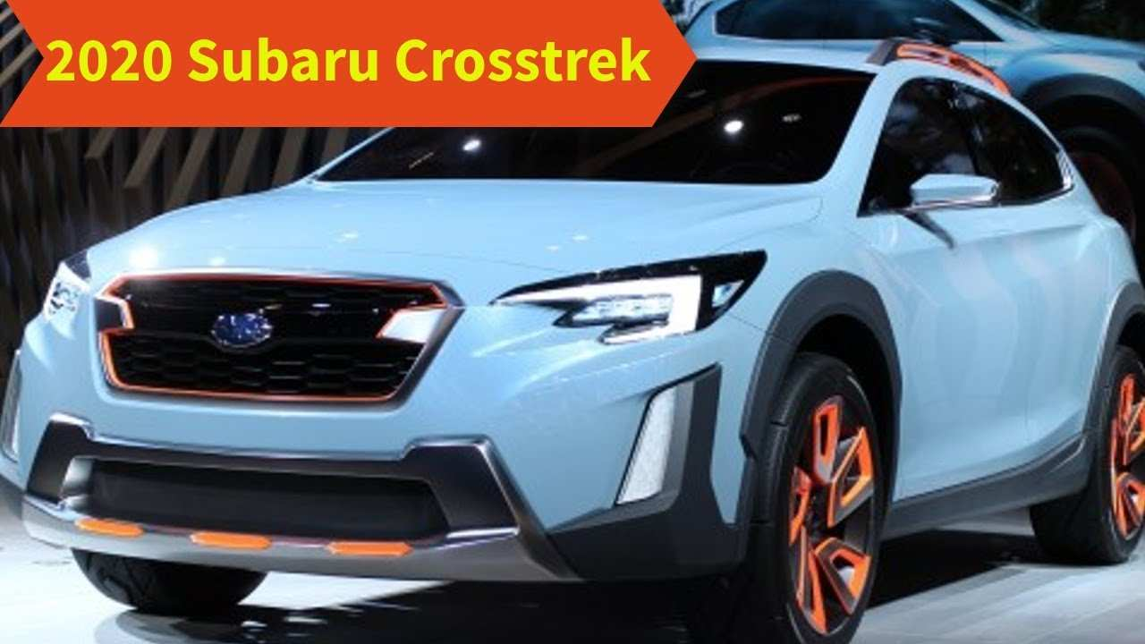 46 New 2020 Subaru Crosstrek New Concept for 2020 Subaru Crosstrek