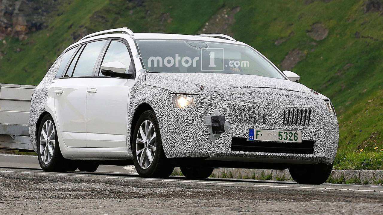 2020 The Spy Shots Skoda Superb Price, Design and Review