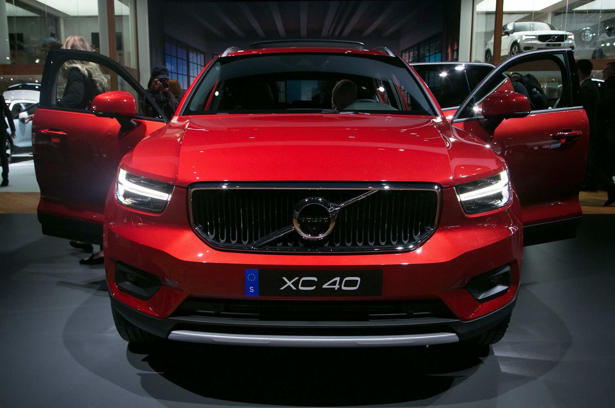 47 Gallery of Volvo 2020 Xc40 Exterior Rumors by Volvo 2020 Xc40 Exterior
