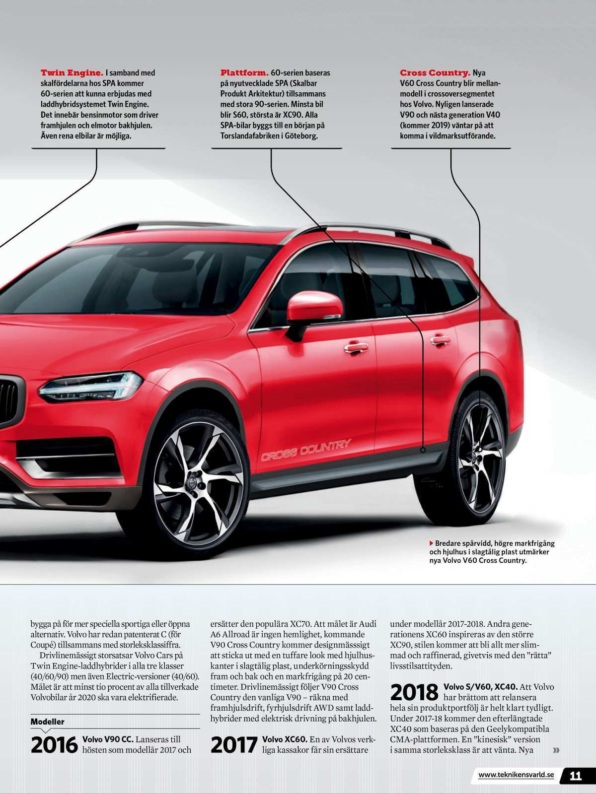 48 Gallery of Volvo V90 Cross Country 2020 New Concept by Volvo V90 Cross Country 2020