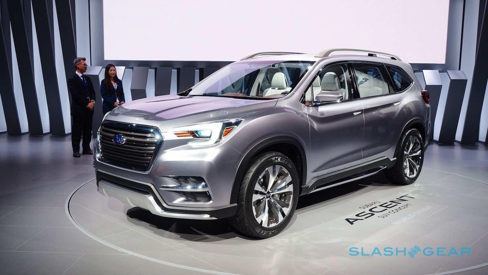 49 Best Review 2020 Subaru Ascent Dimensions Exterior by 2020 Subaru Ascent Dimensions