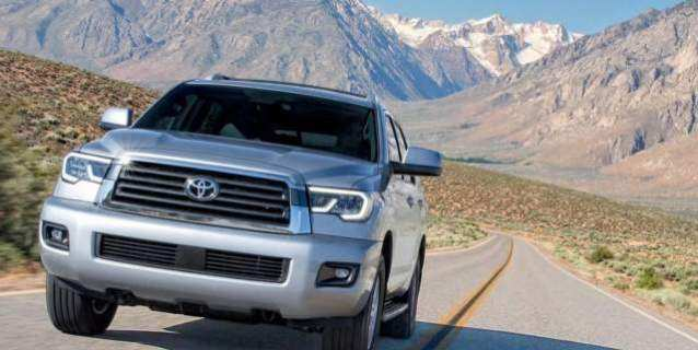 49 Gallery of 2020 Toyota Sequoia Redesign by 2020 Toyota Sequoia