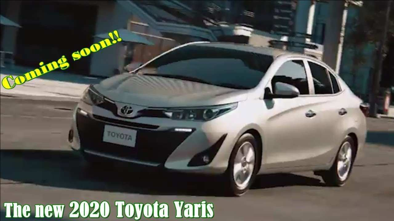49 New Toyota Yaris 2020 Exterior and Interior with Toyota Yaris 2020