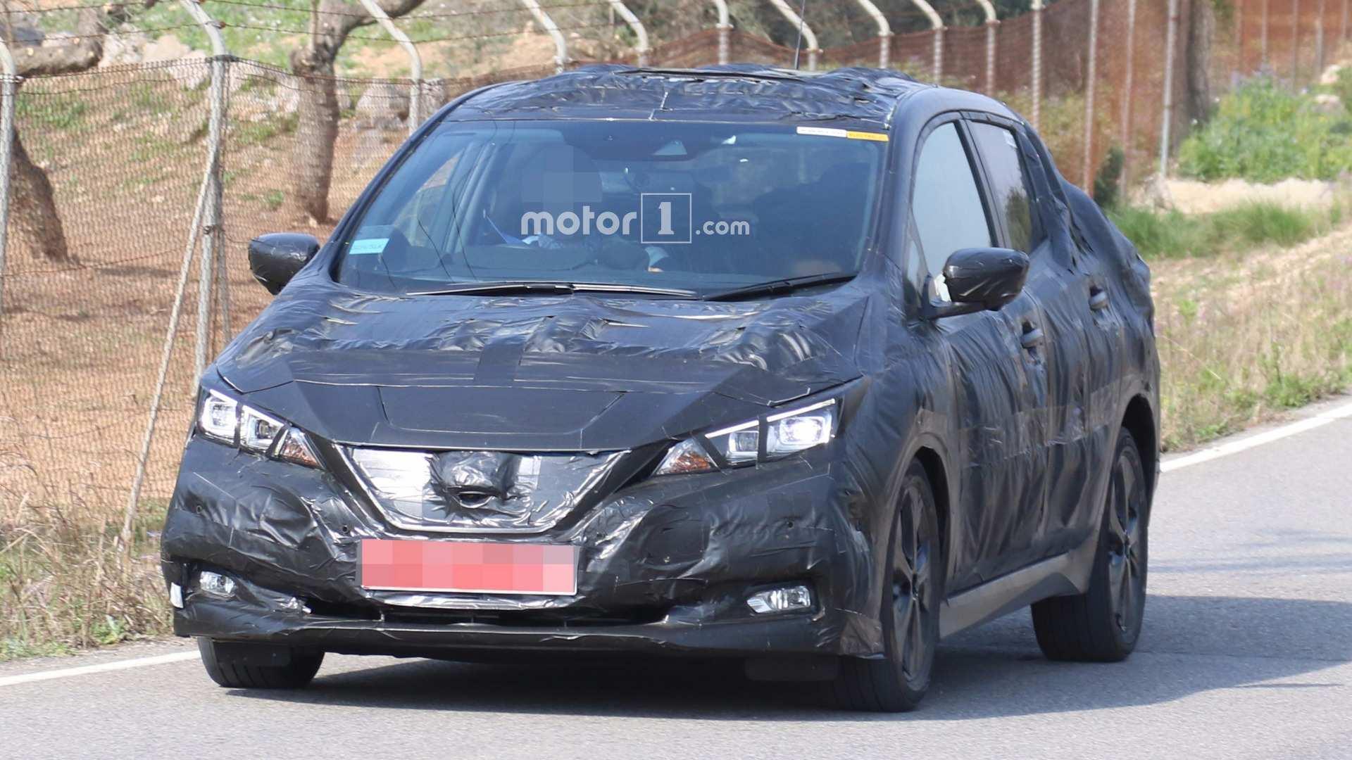 50 The Nissan Leaf 2020 Range Spy Shoot by Nissan Leaf 2020 Range