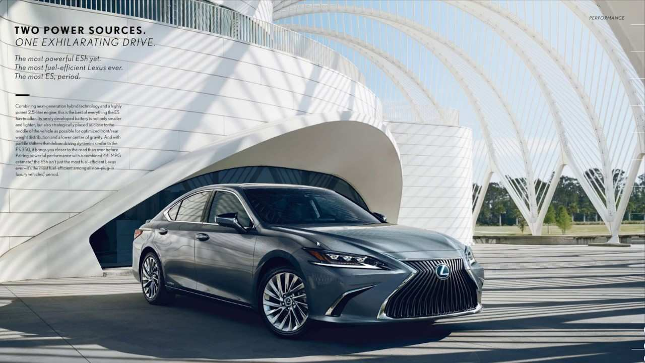 51 Gallery of 2020 Lexus Es 350 Brochure Pictures with 2020 Lexus Es 350 Brochure