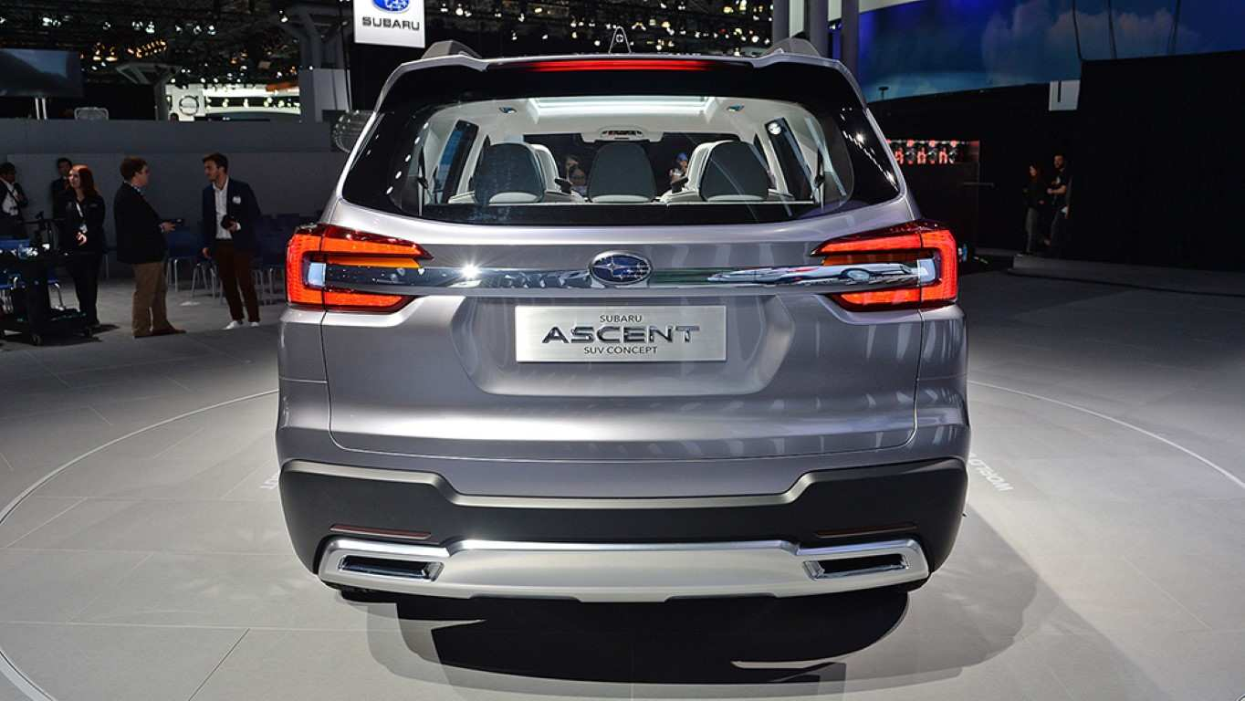 51 The 2020 Subaru Ascent Exterior Redesign for 2020 Subaru Ascent Exterior