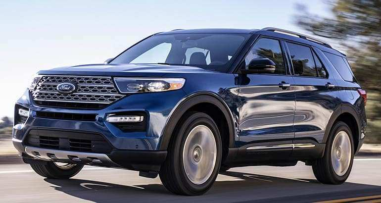 51 The 2020 The Ford Explorer Overview for 2020 The Ford Explorer