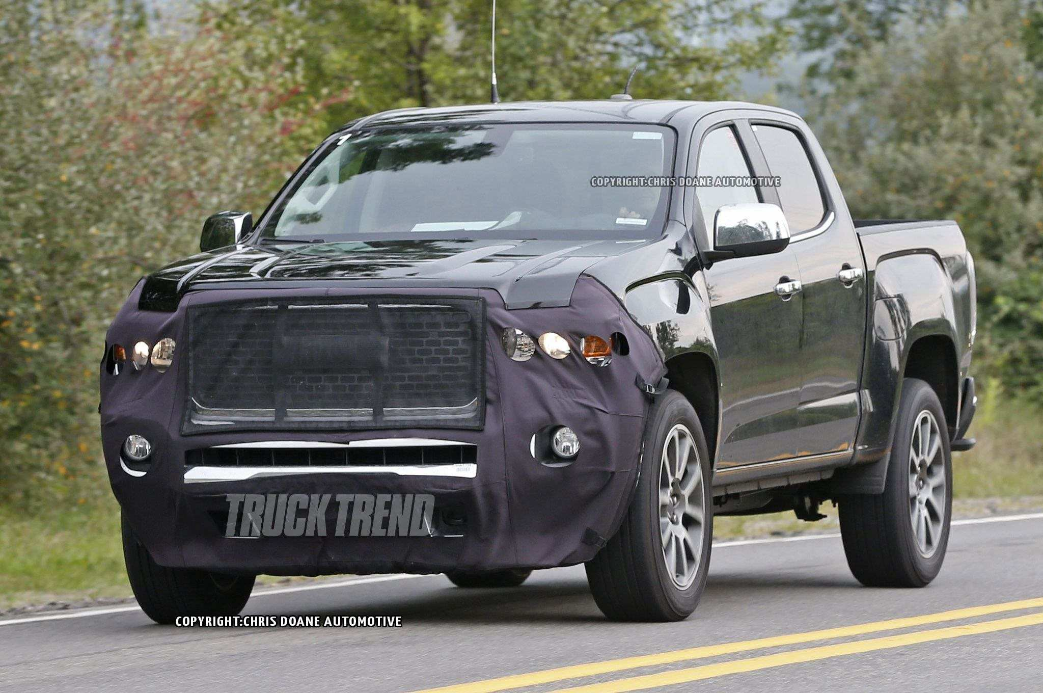 53 All New 2020 GMC Canyon Spy Shoot by 2020 GMC Canyon
