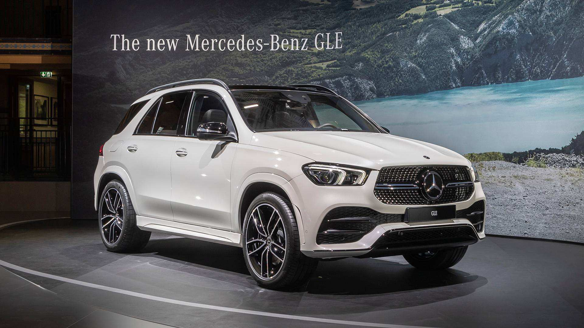 53 The 2020 Mercedes GLE Spy Shoot by 2020 Mercedes GLE