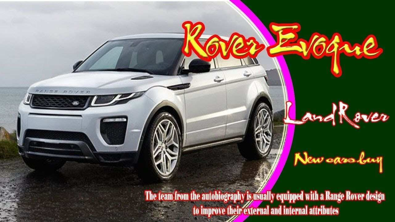 54 Best Review 2020 Range Rover Evoque Xl Pricing for 2020 Range Rover Evoque Xl