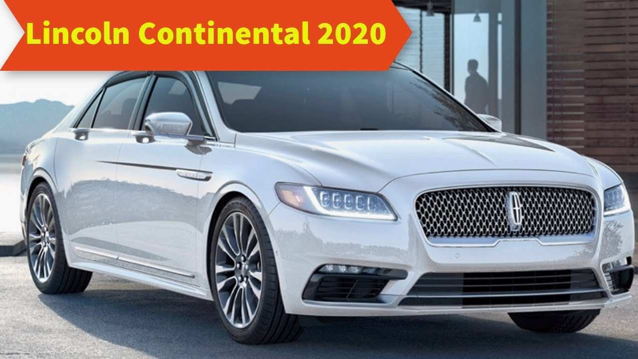55 All New 2020 Lincoln Continental Concept for 2020 Lincoln Continental
