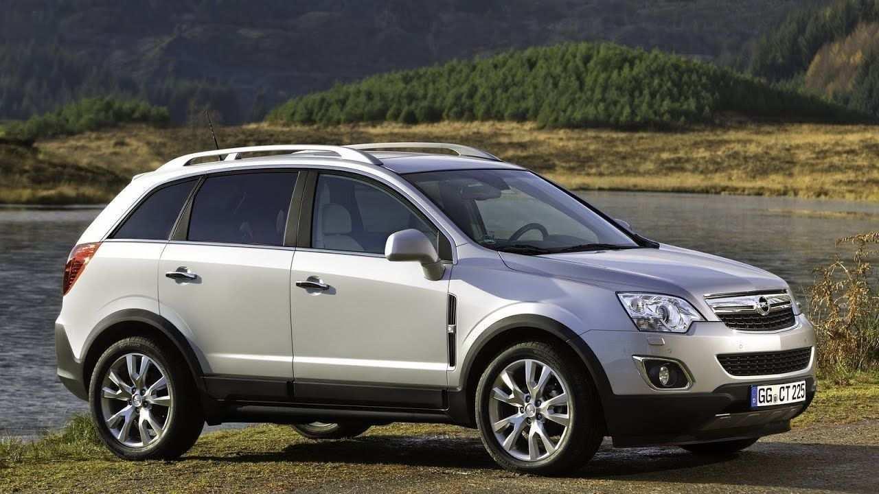 2020 Opel Antara Interior