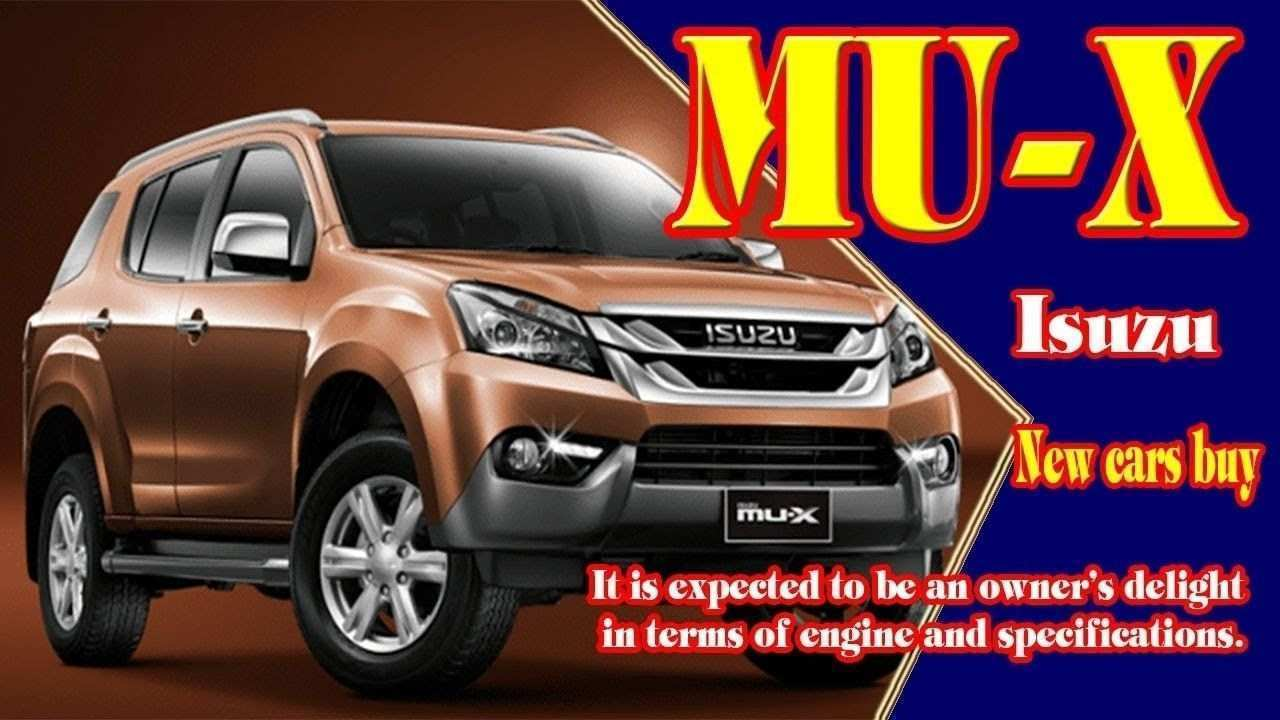 55 The 2020 Isuzu MU X Review with 2020 Isuzu MU X