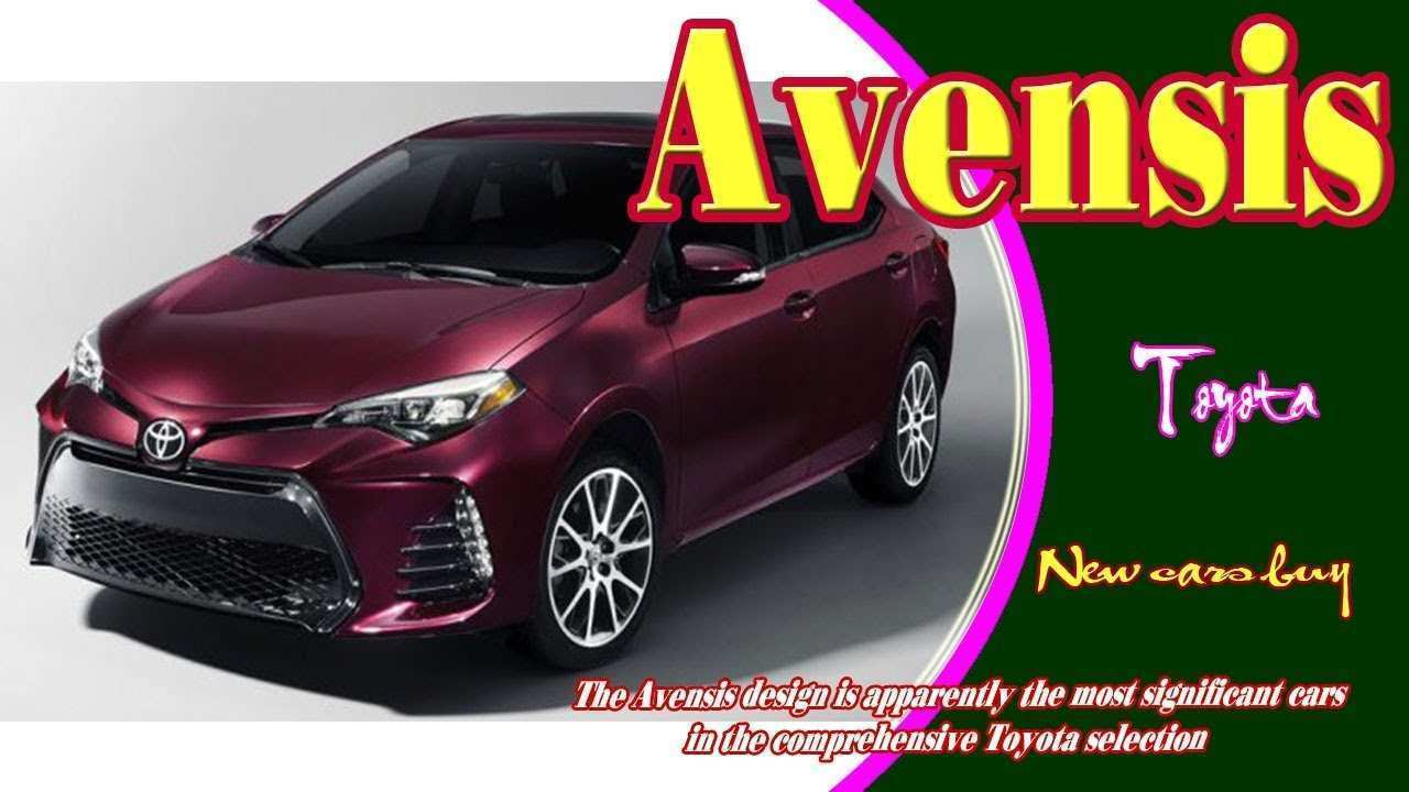 57 Best Review Toyota Avensis 2020 Specs and Review for Toyota Avensis 2020