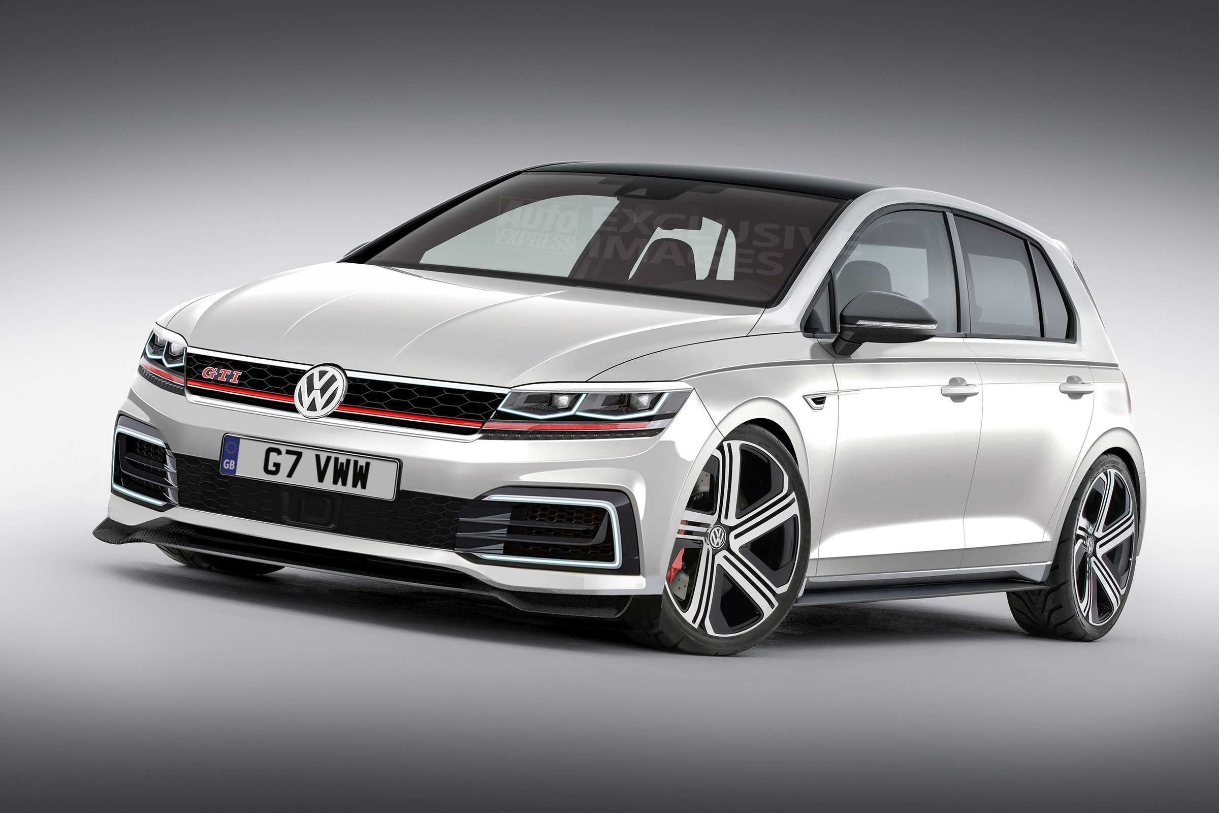 58 Concept of 2020 VW Golf R USA Concept with 2020 VW Golf R USA