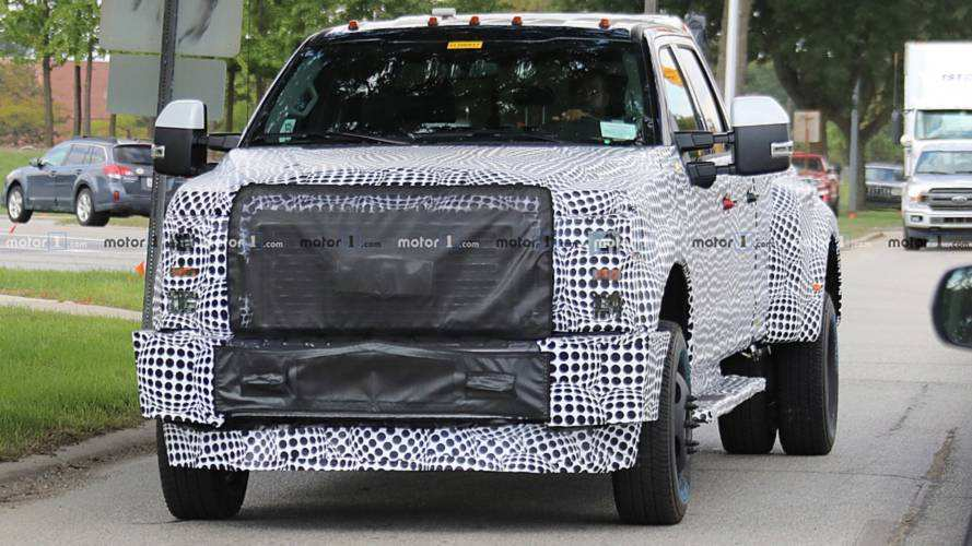 58 Great 2020 Spy Shots Ford F350 Diesel Exterior by 2020 Spy Shots Ford F350 Diesel