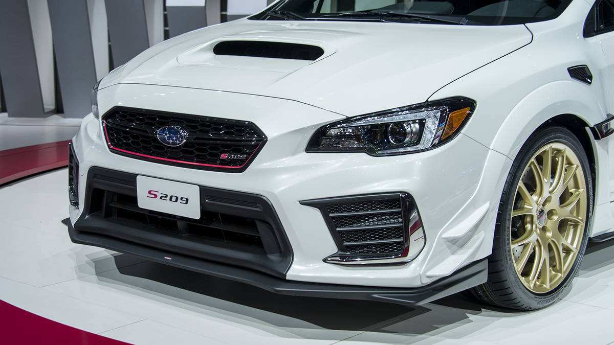 58 The Subaru 2020 Sti Pictures with Subaru 2020 Sti
