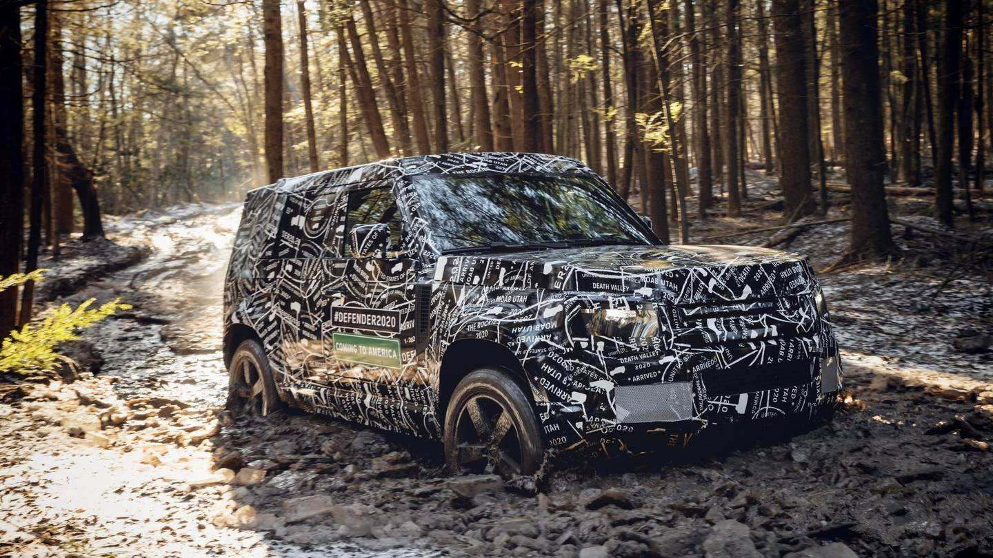 59 All New 2020 Land Rover Defender Picture by 2020 Land Rover Defender