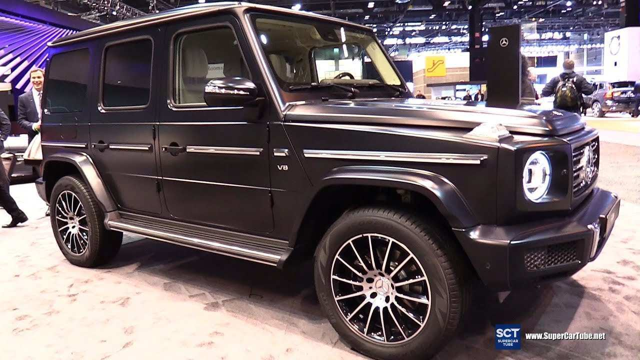59 All New 2020 Mercedes G Class Exterior Concept by 2020 Mercedes G Class Exterior