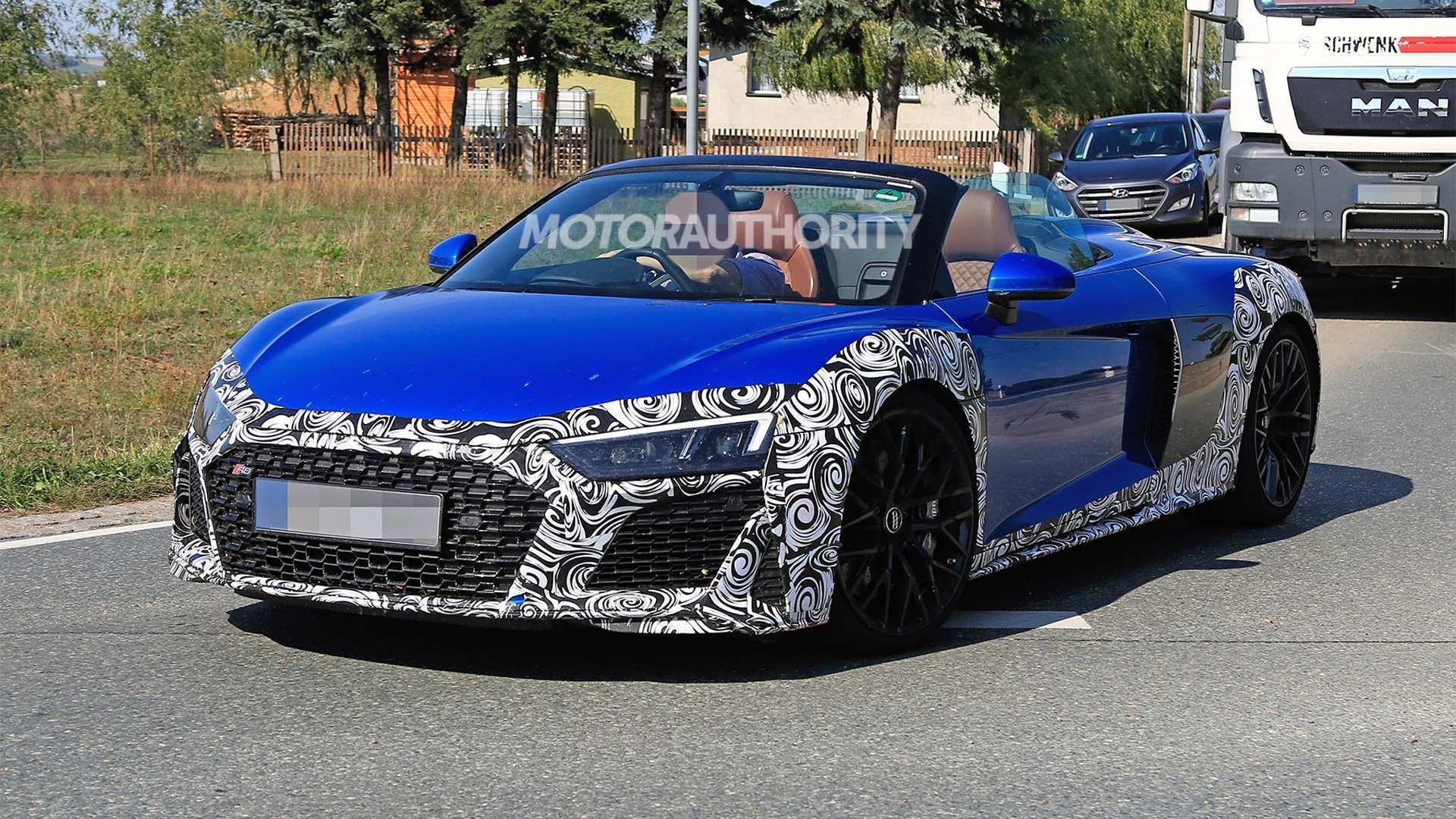 59 Concept of 2020 Audi R8 V10 Spyder Configurations by 2020 Audi R8 V10 Spyder