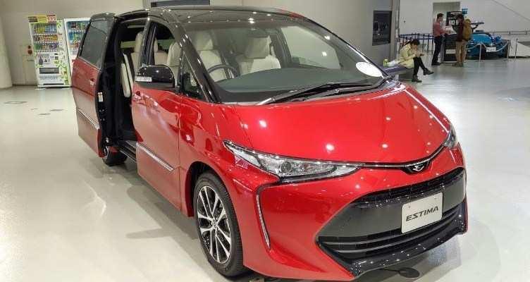 60 All New 2020 Toyota Estima Redesign and Concept with 2020 Toyota Estima