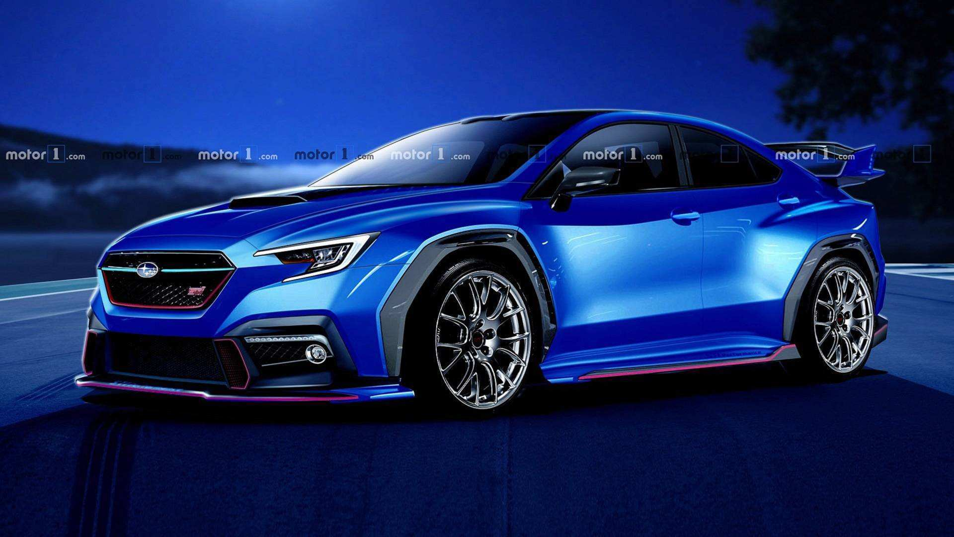 60 All New Subaru Sti 2020 Exterior Picture with Subaru Sti 2020 Exterior