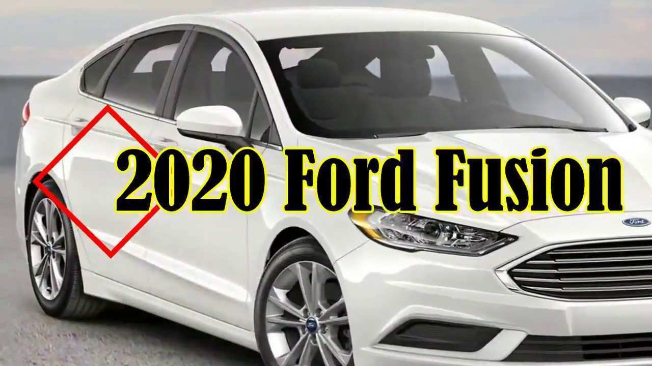 60 Best Review 2020 Ford Fusion Research New for 2020 Ford Fusion