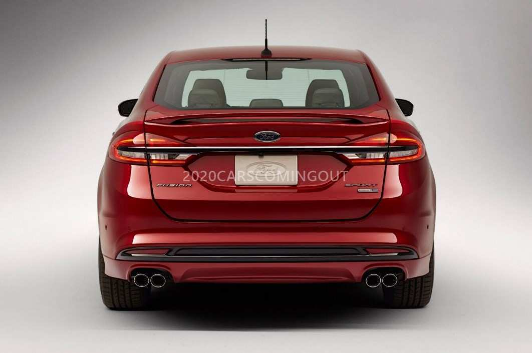60 New 2020 Ford Fusion Energi Release for 2020 Ford Fusion Energi
