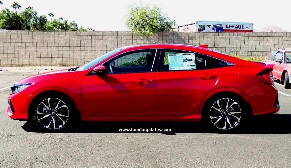 60 New 2020 Honda Civic Si Sedan Redesign and Concept with 2020 Honda Civic Si Sedan