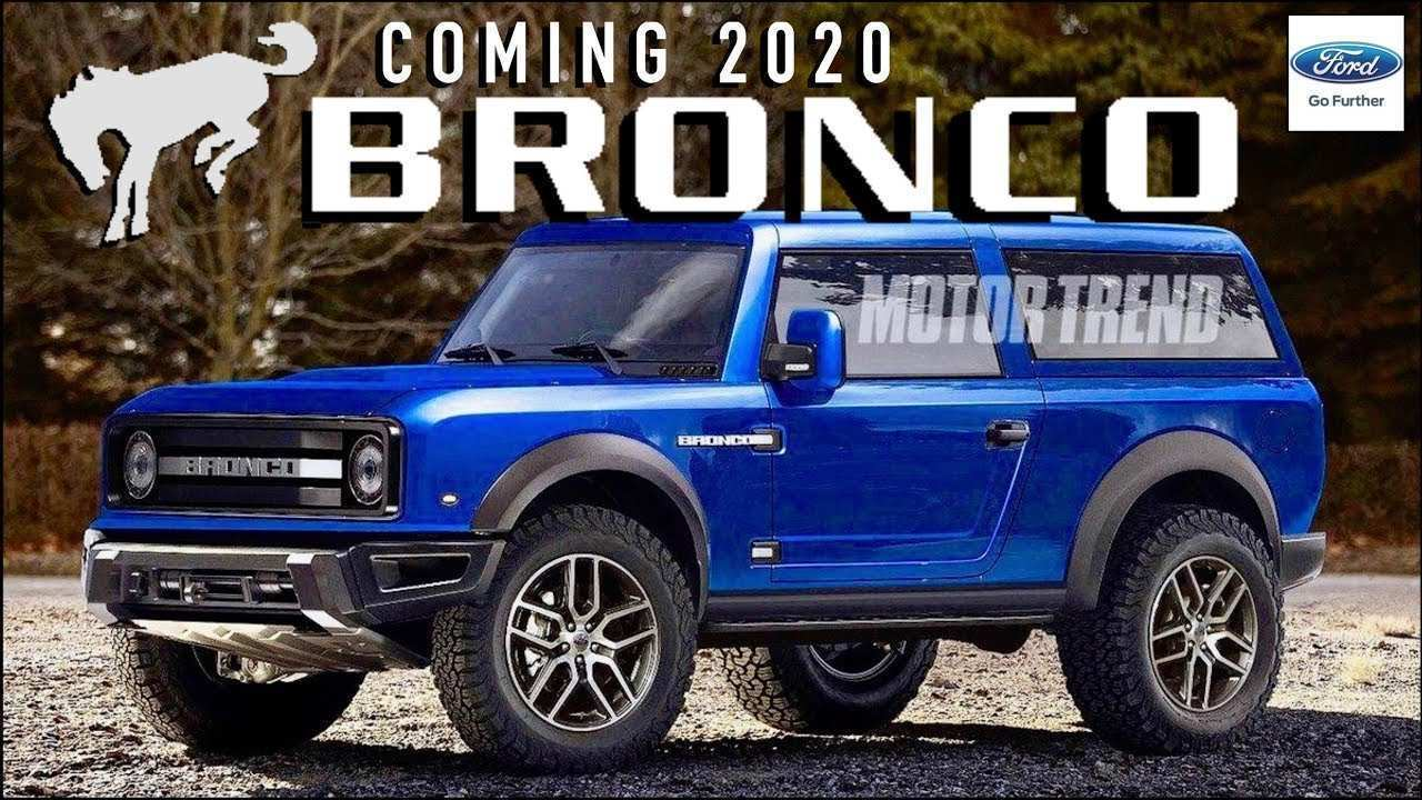 60 The 2020 Ford Bronco Model by 2020 Ford Bronco