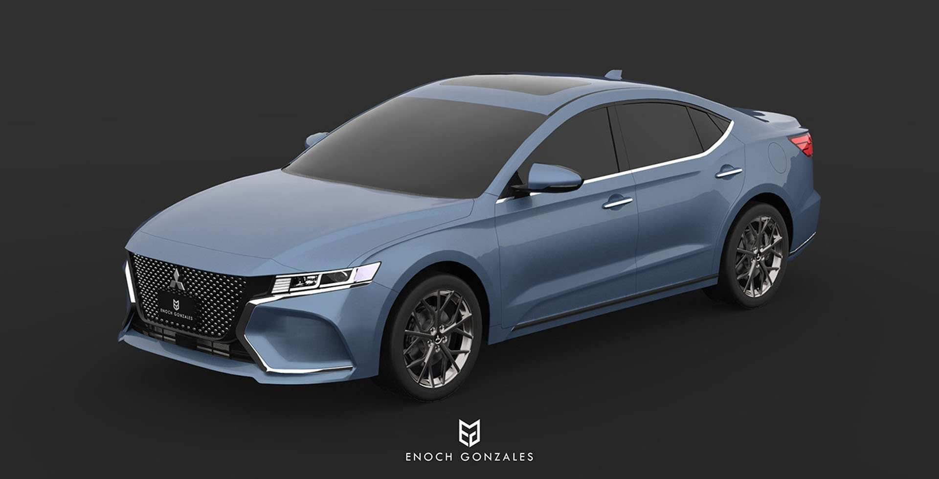 60 The 2020 Mitsubishi Galant New Concept with 2020 Mitsubishi Galant