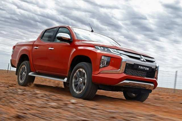 61 Best Review 2020 Mitsubishi Triton Spy Shoot with 2020 Mitsubishi Triton